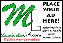 Advertise With Monticello Live