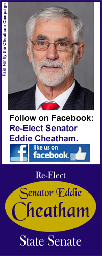 Re-Elect Senator Eddie Cheatham
